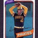1980 Topps Baseball #719 Don Robinson - Pittsburgh Pirates ExMt