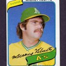 1980 Topps Baseball #717 Mickey Klutts - Oakland A's ExMt