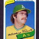 1980 Topps Baseball #717 Mickey Klutts - Oakland A's Ex