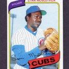 1980 Topps Baseball #716 Lynn McGlothen - Chicago Cubs