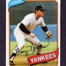 1980 Topps Baseball #710 Graig Nettles - New York Yankees