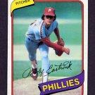 1980 Topps Baseball #692 Rawly Eastwick - Philadelphia Phillies ExMt
