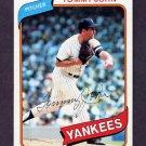 1980 Topps Baseball #690 Tommy John - New York Yankees NM-M