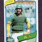 1980 Topps Baseball #687 Mike Heath - Oakland A's