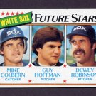 1980 Topps Baseball #664 Mike Colbern / Guy Hoffman / Dewey Robinson - Chicago White Sox Ex