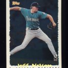 1995 Topps Baseball Cyberstats #340 Jeff Nelson - Seattle Mariners