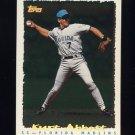 1995 Topps Baseball Cyberstats #255 Kurt Abbott - Florida Marlins