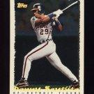 1995 Topps Baseball Cyberstats #242 Danny Bautista - Detroit Tigers