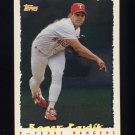 1995 Topps Baseball Cyberstats #233 Roger Pavlik - Texas Rangers