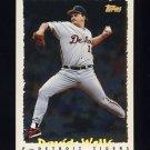 1995 Topps Baseball Cyberstats #231 David Wells - Detroit Tigers