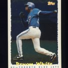 1995 Topps Baseball Cyberstats #225 Devon White - Toronto Blue Jays
