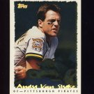 1995 Topps Baseball Cyberstats #141 Andy Van Slyke - Pittsburgh Pirates
