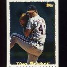 1995 Topps Baseball Cyberstats #123 Tim Belcher - Detroit Tigers
