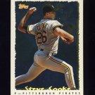 1995 Topps Baseball Cyberstats #113 Steve Cooke - Pittsburgh Pirates