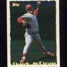1995 Topps Baseball Cyberstats #093 Chuck McElroy - Cincinnati Reds