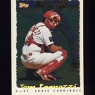 1995 Topps Baseball Cyberstats #072 Tom Pagnozzi - St. Louis Cardinals