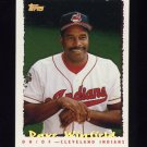 1995 Topps Baseball Cyberstats #038 Dave Winfield - Cleveland Indians