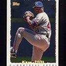 1995 Topps Baseball Cyberstats #035 Ken Hill - Montreal Expos