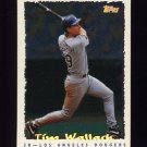 1995 Topps Baseball Cyberstats #030 Tim Wallach - Los Angeles Dodgers