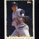 1995 Topps Baseball Cyberstats #029 Kevin Tapani - Minnesota Twins