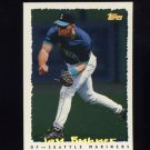 1995 Topps Baseball Cyberstats #021 Jay Buhner - Seattle Mariners