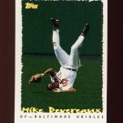 1995 Topps Baseball Cyberstats #019 Mike Devereaux - Baltimore Orioles