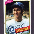 1980 Topps Baseball #644 Charlie Hough - Los Angeles Dodgers