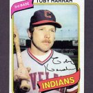 1980 Topps Baseball #636 Toby Harrah - Cleveland Indians Ex