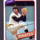 1980 Topps Baseball #635 John Candelaria - Pittsburgh Pirates NM-M