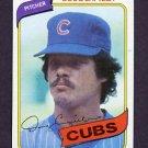 1980 Topps Baseball #628 Doug Capilla - Chicago Cubs