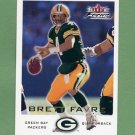 2000 Fleer Focus Football #064 Brett Favre - Green Bay Packers