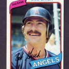 1980 Topps Baseball #621 Bob Grich - California Angels NM-M