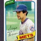 1980 Topps Baseball #619 Sergio Ferrer - New York Mets NM-M