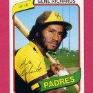 1980 Topps Baseball #616 Gene Richards - San Diego Padres NM-M
