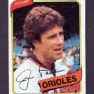 1980 Topps Baseball #590 Jim Palmer - Baltimore Orioles