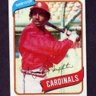 1980 Topps Baseball #587 Garry Templeton - St. Louis Cardinals Ex