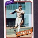 1980 Topps Baseball #573 Kent Tekulve - Pittsburgh Pirates NM-M
