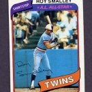 1980 Topps Baseball #570 Roy Smalley - Minnesota Twins Ex