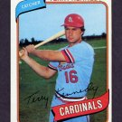 1980 Topps Baseball #569 Terry Kennedy - St. Louis Cardinals
