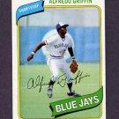 1980 Topps Baseball #558 Alfredo Griffin - Toronto Blue Jays NM-M
