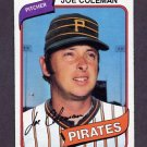 1980 Topps Baseball #542 Joe Coleman - Pittsburgh Pirates