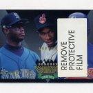 1995 Donruss Baseball Dominators #8 Ken Griffey Jr. / Kenny Lofton / Marquis Grissom