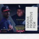 1995 Donruss Baseball Dominators #3 Fred McGriff / Frank Thomas / Jeff Bagwell