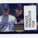 1995 Donruss Baseball Dominators #1 David Cone / Mike Mussina / Greg Maddux