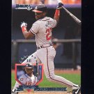 1995 Donruss Baseball #349 Fred McGriff - Atlanta Braves