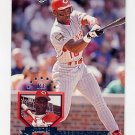 1995 Donruss Baseball #204 Reggie Sanders - Cincinnati Reds