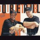 1997 Ultra Baseball Double Trouble #01 Roberto Alomar / Cal Ripken - Baltimore Orioles