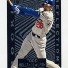 1997 Ultra Baseball Rookie Reflections #04 Todd Hollandsworth - Los Angeles Dodgers