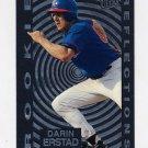 1997 Ultra Baseball Rookie Reflections #03 Darin Erstad - California Angels