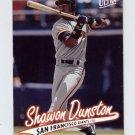 1997 Ultra Baseball #293 Shawon Dunston - San Francisco Giants